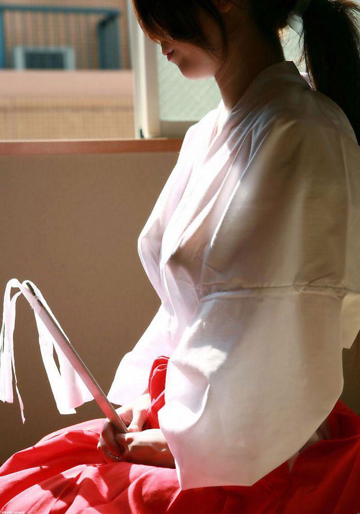 【透けエロ画像】究極のセクシーだと思っていた透け画像が実は見えちゃってるから反則だった件www 08