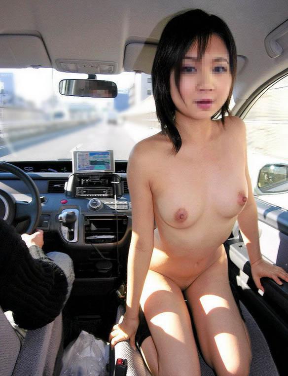 【カーセックスエロ画像】ワンボックスカーを買った理由は彼女とカーセックスするためでした! 17