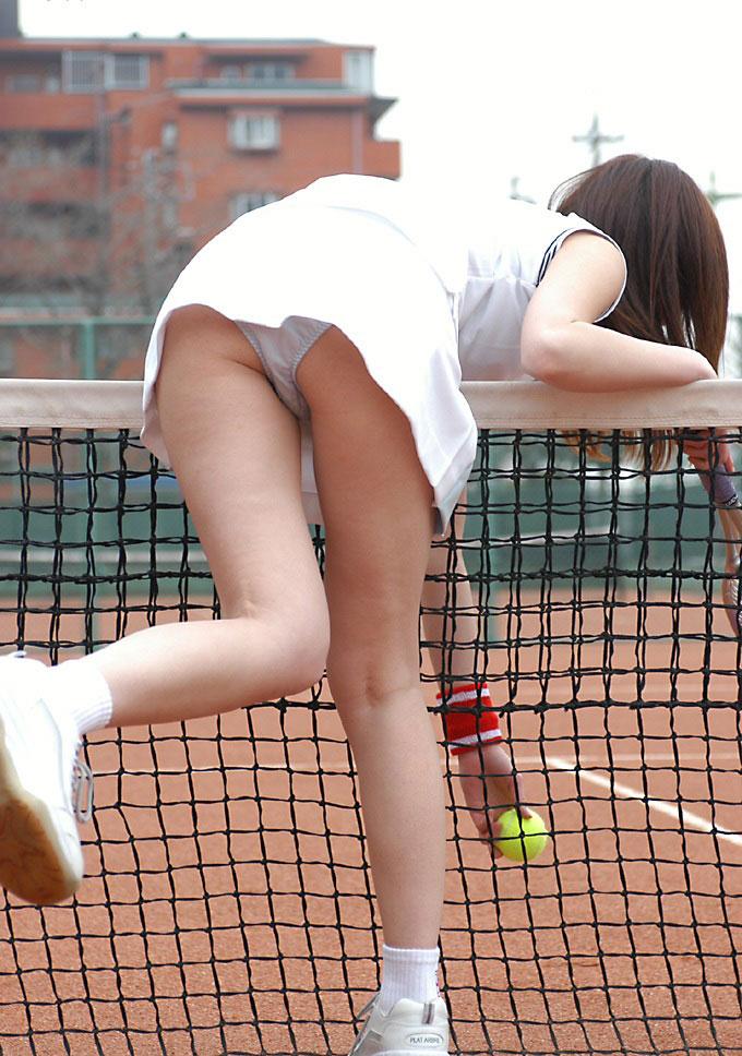 【コスプレエロ画像】テニスウェアの清純さにエロスを感じずにはいられないwww 17