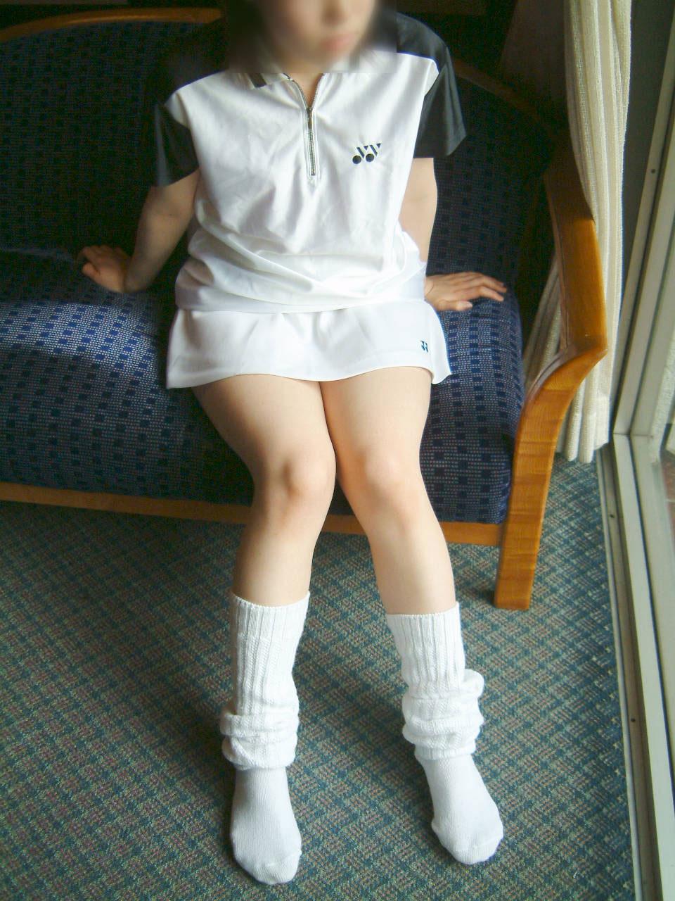 【コスプレエロ画像】テニスウェアの清純さにエロスを感じずにはいられないwww 22