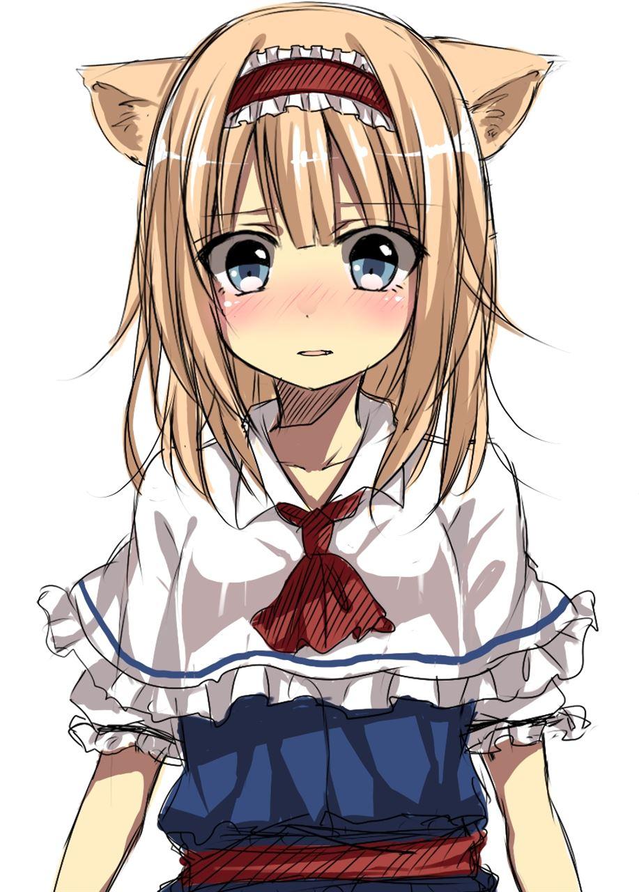 【猫耳エロ画像】リアルで語尾に「にゃん」を付けると引くけど、二次元なら許せるwww 04