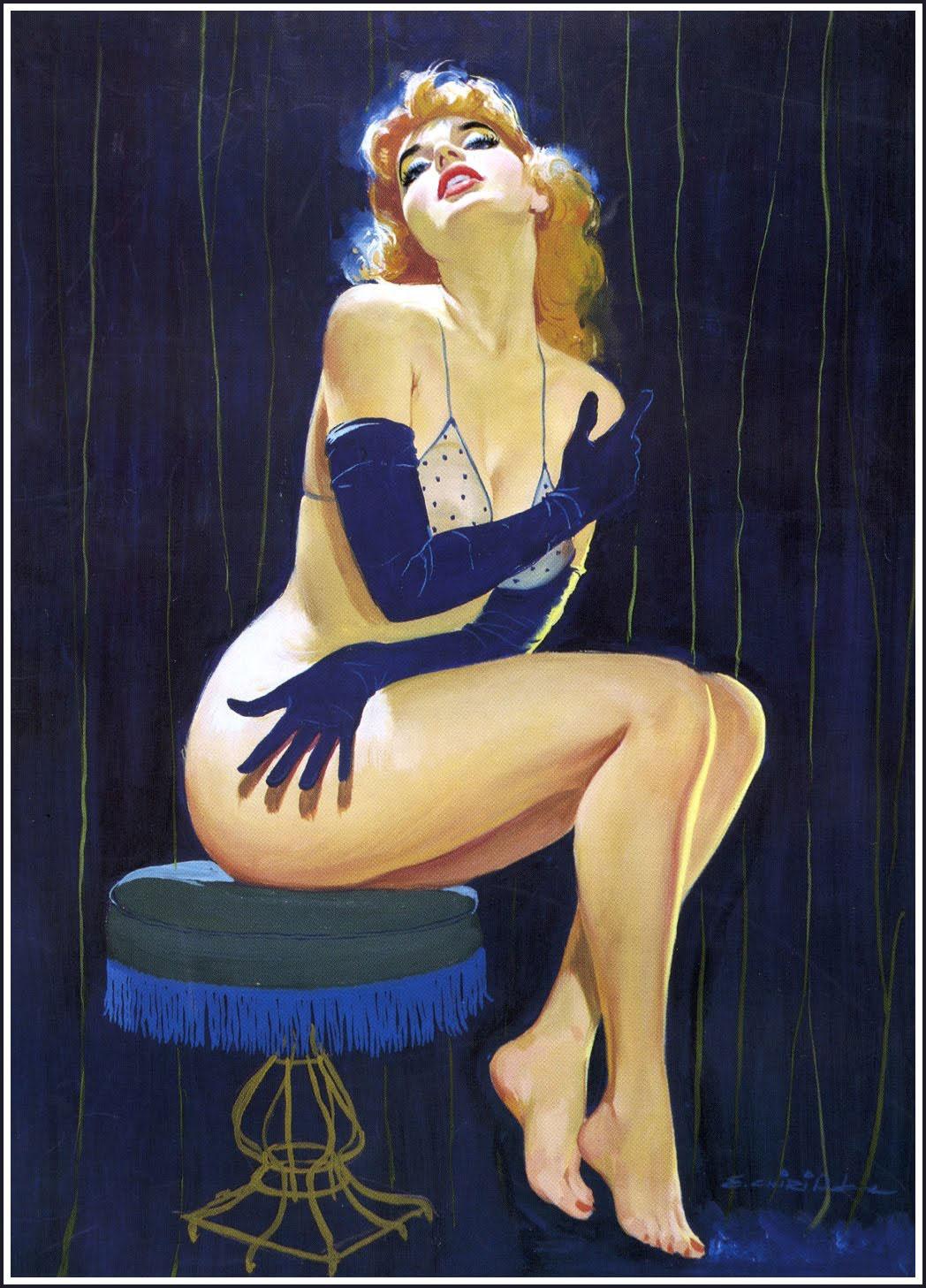 【絵画エロ画像】ガチでアートな絵画に描かれたヌードに興奮してしまったんだがwww 04