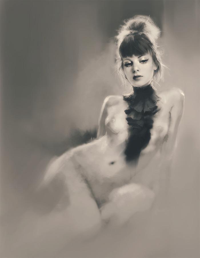 【絵画エロ画像】ガチでアートな絵画に描かれたヌードに興奮してしまったんだがwww 05