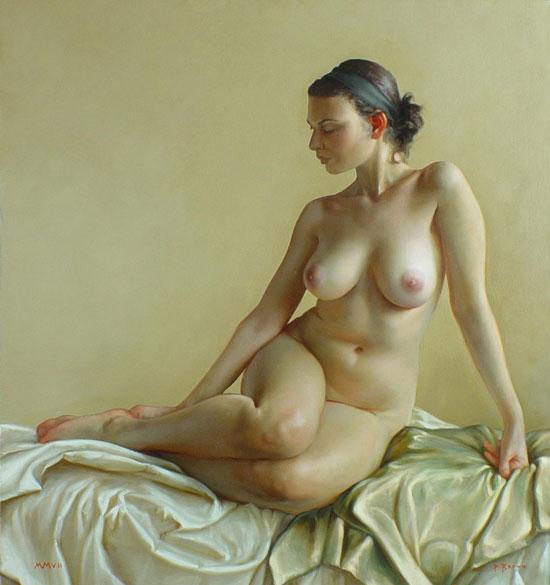 【絵画エロ画像】ガチでアートな絵画に描かれたヌードに興奮してしまったんだがwww 33