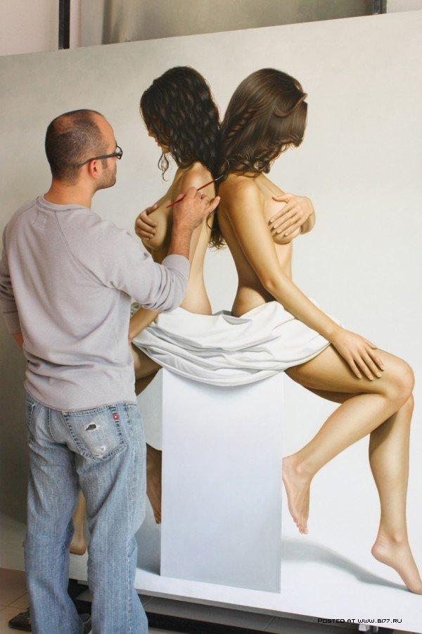 【絵画エロ画像】ガチでアートな絵画に描かれたヌードに興奮してしまったんだがwww 47