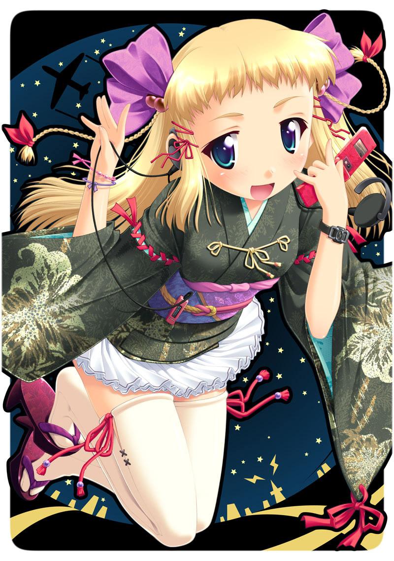 【コスプレエロ画像】ミニスカ着物やゴス系などのコスプレをした美少女のイラストまとめ! 10