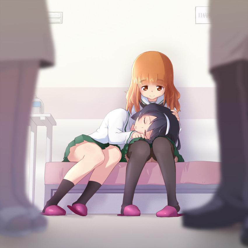 【膝枕エロ画像】太ももマニアに捧げる気持ちよさそうな膝枕イラストまとめ!