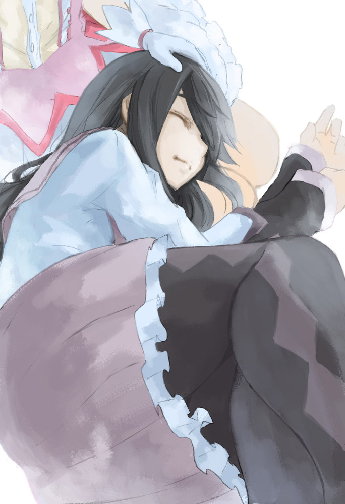 【膝枕エロ画像】太ももマニアに捧げる気持ちよさそうな膝枕イラストまとめ! 05