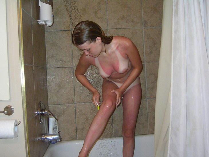 【剃毛エロ画像】いまからパイパンになります!剃毛中の女の子にドキドキwww 07