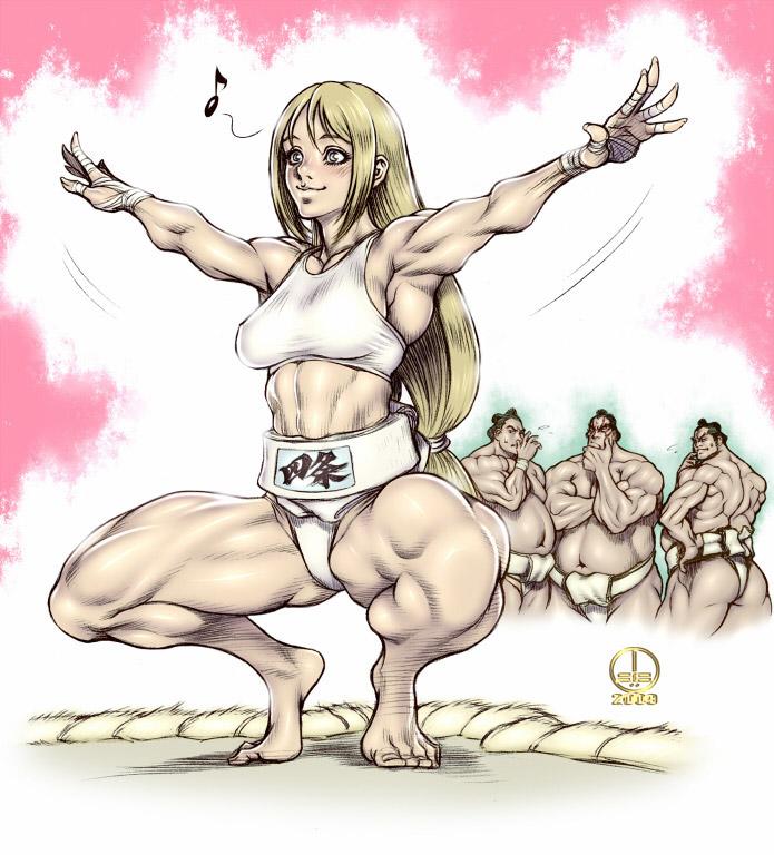【キャットファイトエロ画像】真剣に戦っている女性に感じるエロスwww 06