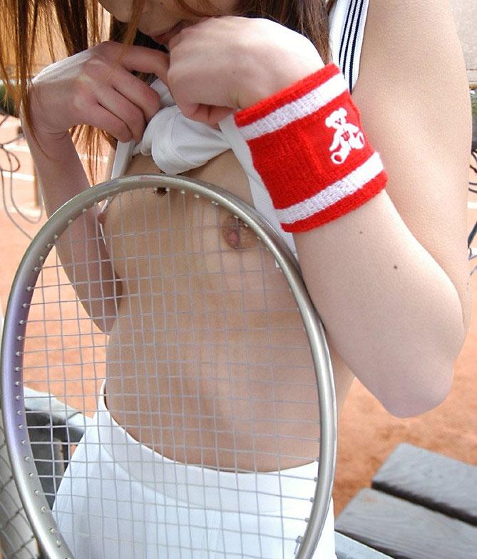 【テニスウェアエロ画像】元テニス部の俺がスパークしたテニスコスプレ画像たち!