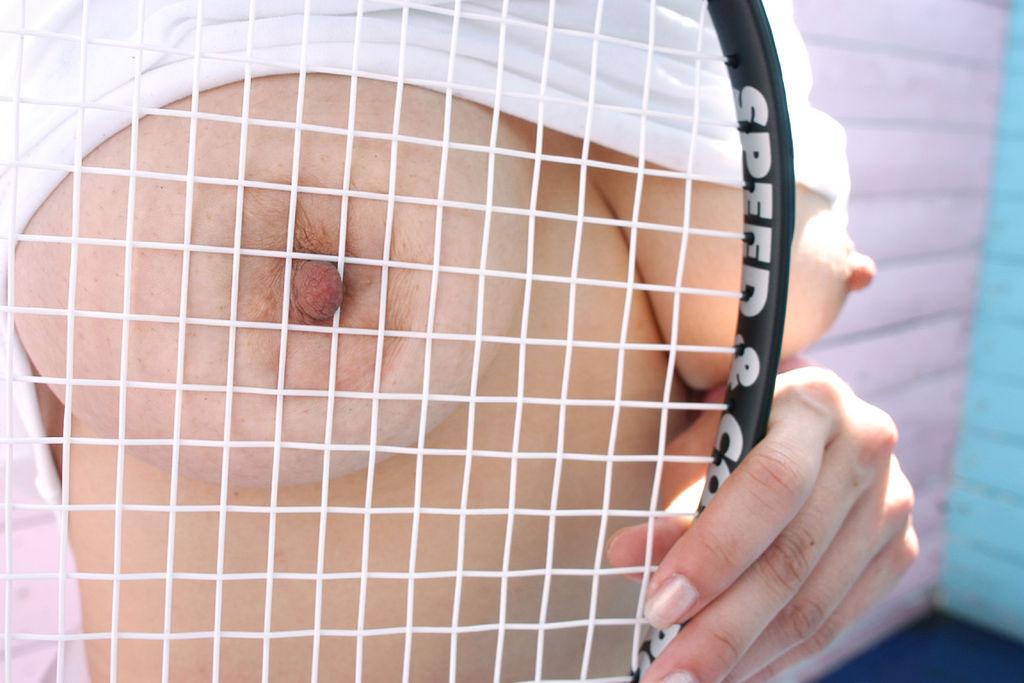 【テニスウェアエロ画像】元テニス部の俺がスパークしたテニスコスプレ画像たち! 11