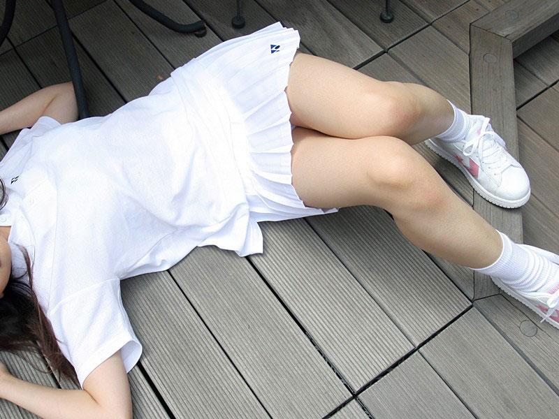 【テニスウェアエロ画像】元テニス部の俺がスパークしたテニスコスプレ画像たち! 25