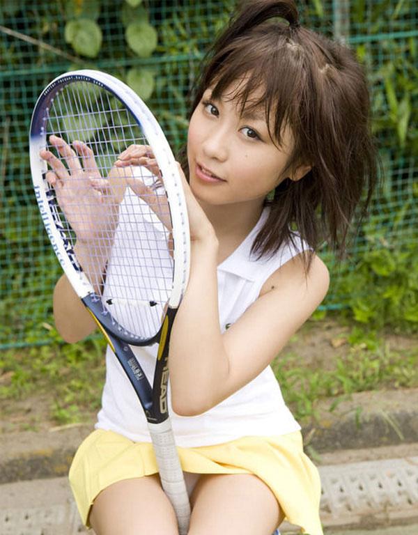 【テニスウェアエロ画像】元テニス部の俺がスパークしたテニスコスプレ画像たち! 27