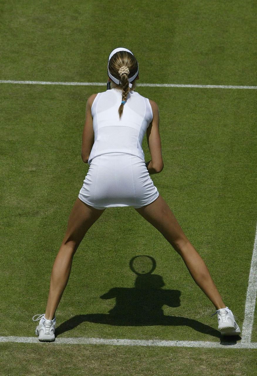 【テニスウェアエロ画像】元テニス部の俺がスパークしたテニスコスプレ画像たち! 30