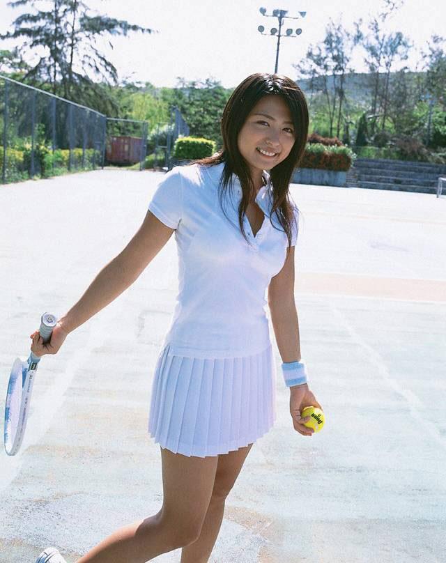 【テニスウェアエロ画像】元テニス部の俺がスパークしたテニスコスプレ画像たち! 34